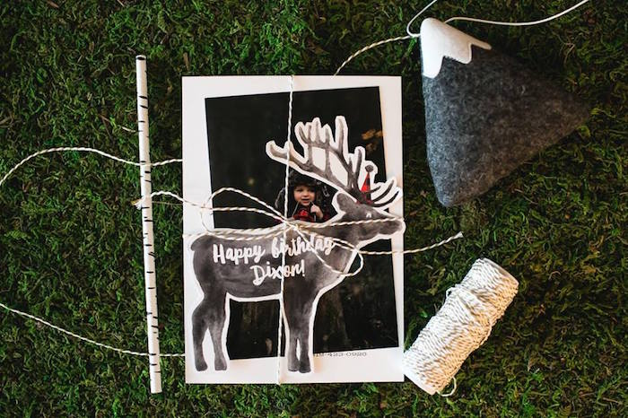 Invitation from a Lumberjack Birthday Party on Kara's Party Ideas | KarasPartyIdeas.com (8)