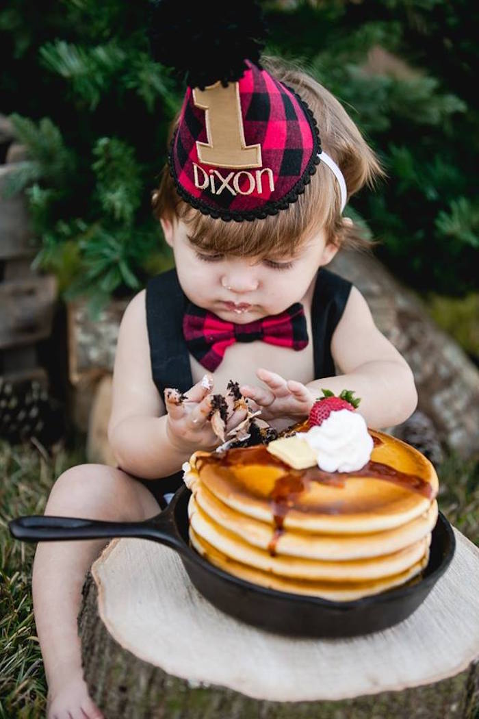 Lumberjack Birthday Party on Kara's Party Ideas | KarasPartyIdeas.com (41)