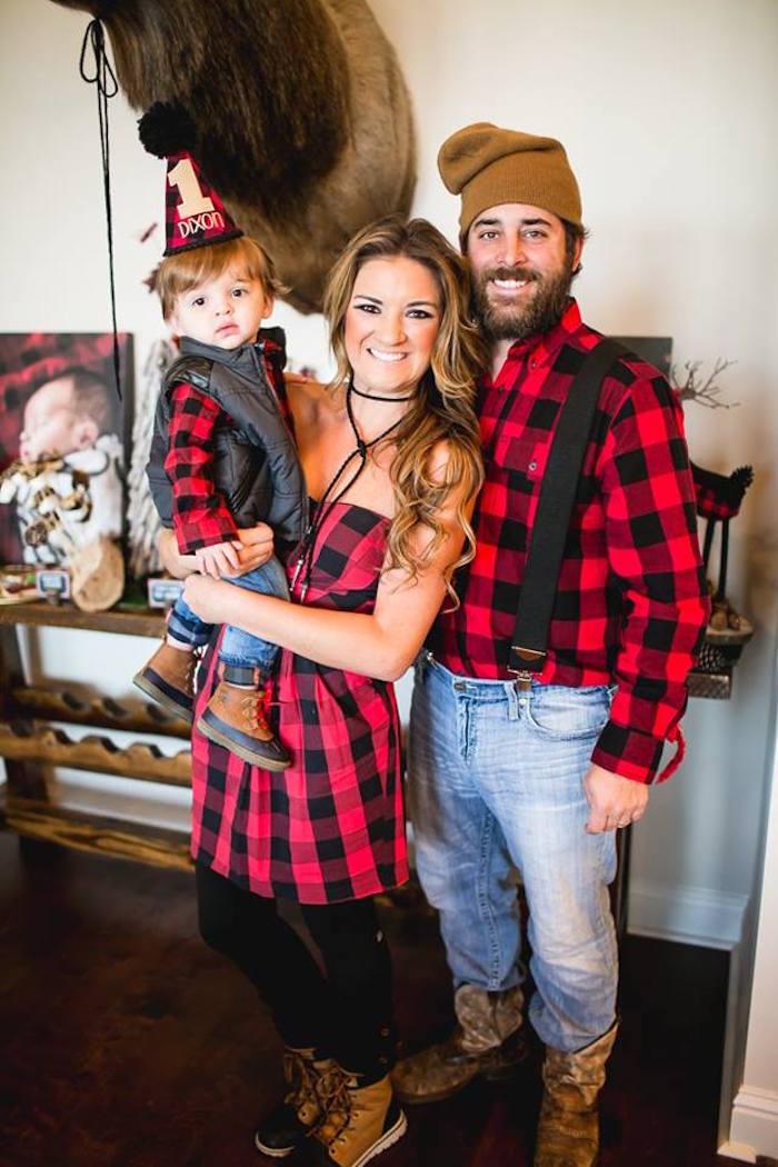 Lumberjack Birthday Party on Kara's Party Ideas | KarasPartyIdeas.com (2)