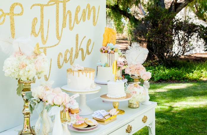 Marie Antoinette Inspired Bridal Shower on Kara's Party Ideas | KarasPartyIdeas.com (28)