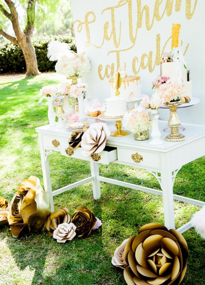 Marie Antoinette Inspired Bridal Shower on Kara's Party Ideas | KarasPartyIdeas.com (26)