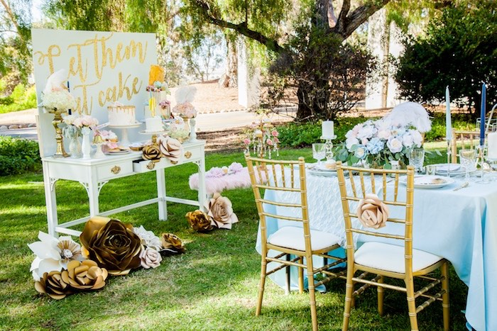 Marie Antoinette Inspired Bridal Shower on Kara's Party Ideas | KarasPartyIdeas.com (19)