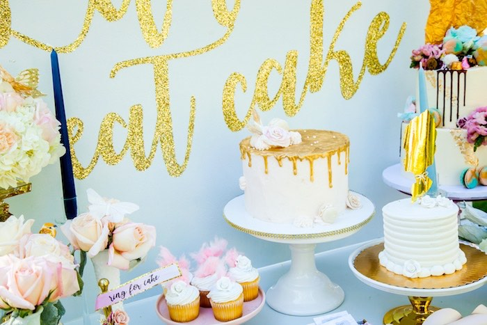 Cakes from a Marie Antoinette Inspired Bridal Shower on Kara's Party Ideas | KarasPartyIdeas.com (16)