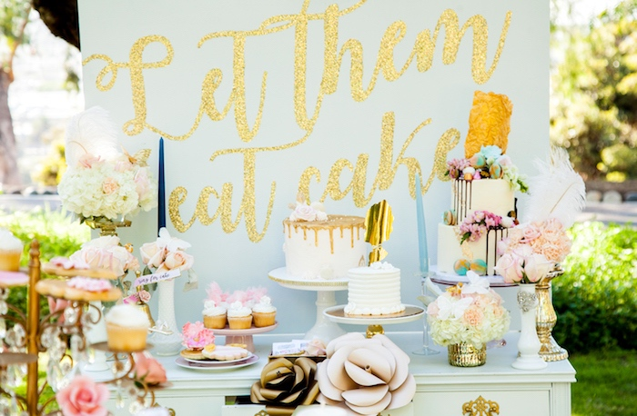 Marie Antoinette Inspired Bridal Shower on Kara's Party Ideas | KarasPartyIdeas.com (14)