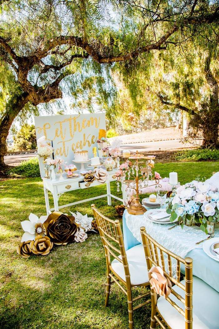 Marie Antoinette Inspired Bridal Shower on Kara's Party Ideas | KarasPartyIdeas.com (10)