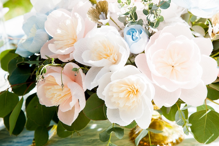 Florals from a Marie Antoinette Inspired Bridal Shower on Kara's Party Ideas | KarasPartyIdeas.com (32)