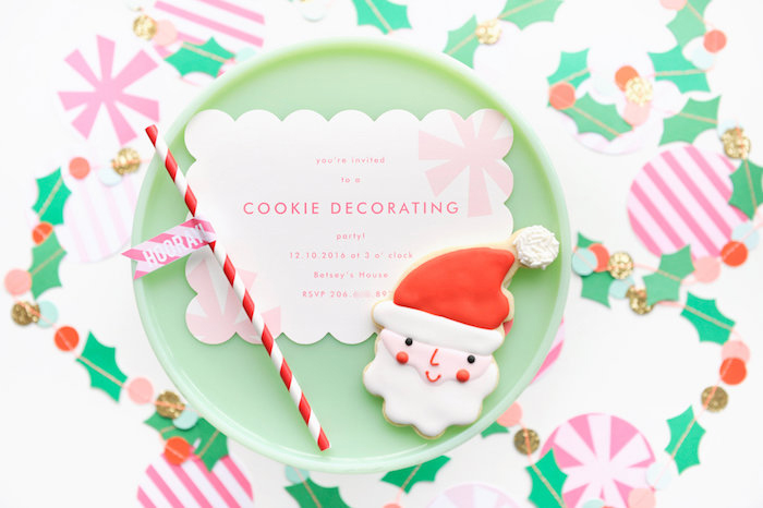 Christmas Party Invitation from a Merry & Bright Christmas Party on Kara's Party Ideas | KarasPartyIdeas.com (32)