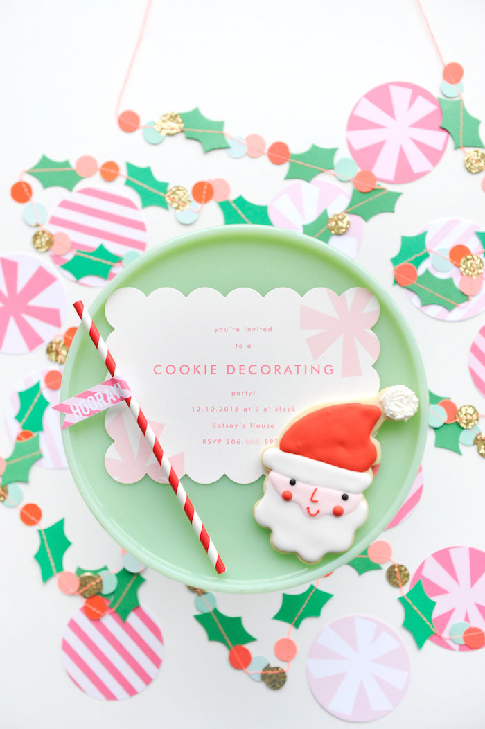 Christmas Party Invitation from a Merry & Bright Christmas Party on Kara's Party Ideas | KarasPartyIdeas.com (30)