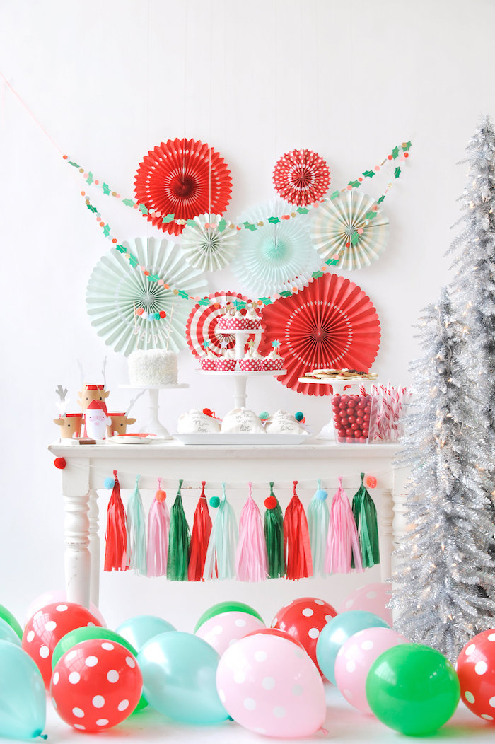 Kara's Party Ideas Merry & Bright Christmas Party | Kara's ...