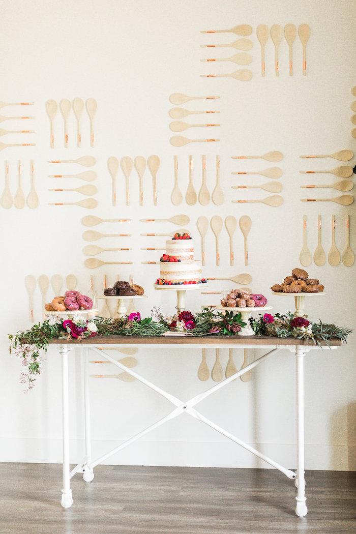 modern rustic baby shower on kara 39 s party ideas