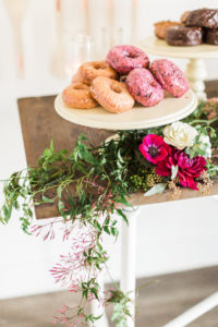 Beautiful flower + greenery garland from a Modern Rustic Baby Shower on Kara's Party Ideas | KarasPartyIdeas.com (28)