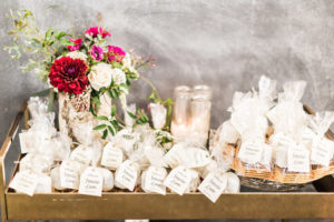 Favor table from a Modern Rustic Baby Shower on Kara's Party Ideas | KarasPartyIdeas.com (22)