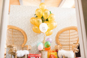 Gift + present station from a Modern Rustic Baby Shower on Kara's Party Ideas | KarasPartyIdeas.com (12)