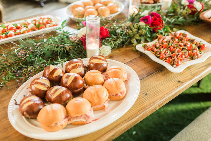 Food from a Modern Rustic Baby Shower on Kara's Party Ideas | KarasPartyIdeas.com (39)