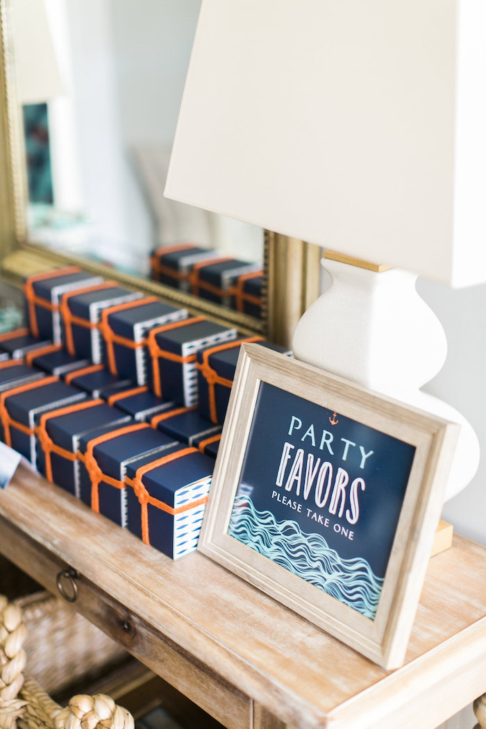 Favors from a Modern Under the Sea Birthday Party on Kara's Party Ideas | KarasPartyIdeas.com (20)