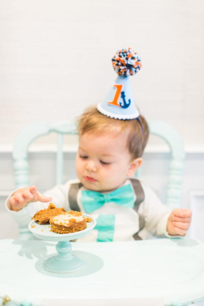 Modern Under the Sea Birthday Party on Kara's Party Ideas | KarasPartyIdeas.com (4)