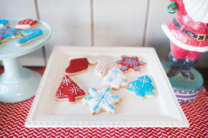 Mom & Me Christmas Craft Party on Kara's Party Ideas   KarasPartyIdeas.com (42)