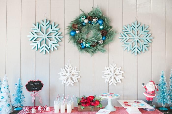 Mom & Me Christmas Craft Party on Kara's Party Ideas   KarasPartyIdeas.com (37)