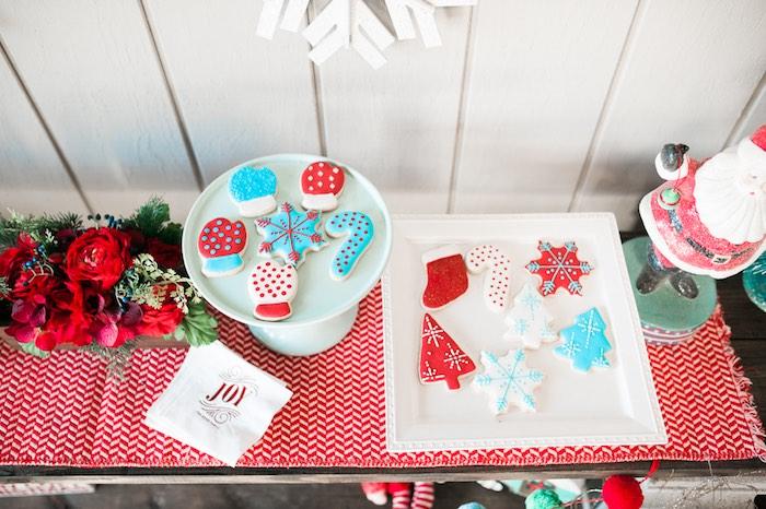 Mom & Me Christmas Craft Party on Kara's Party Ideas   KarasPartyIdeas.com (35)