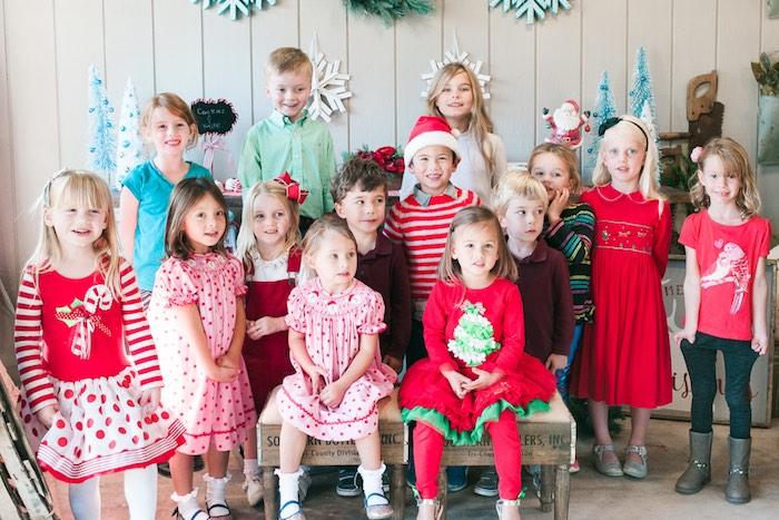 Mom & Me Christmas Craft Party on Kara's Party Ideas   KarasPartyIdeas.com (19)