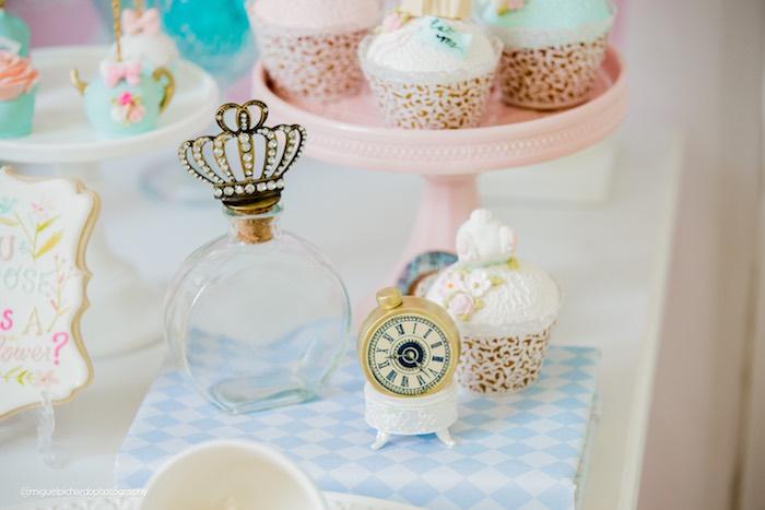Pastel Glam Alice in Wonderland Birthday Party on Kara's Party Ideas | KarasPartyIdeas.com (32)