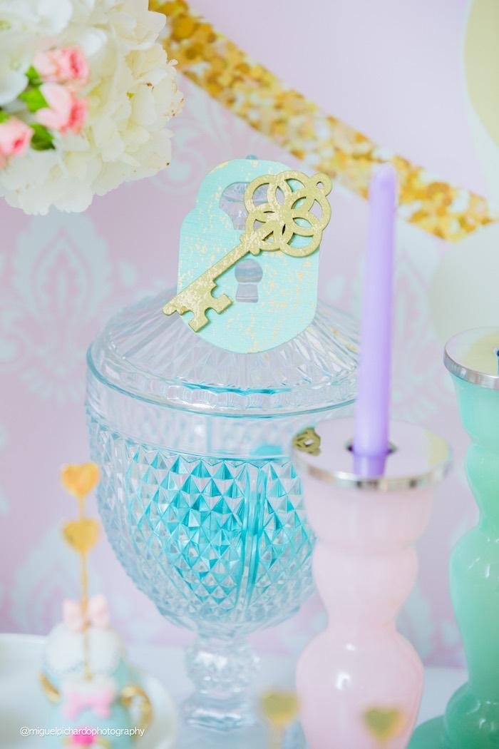 Pastel Glam Alice in Wonderland Birthday Party on Kara's Party Ideas | KarasPartyIdeas.com (26)