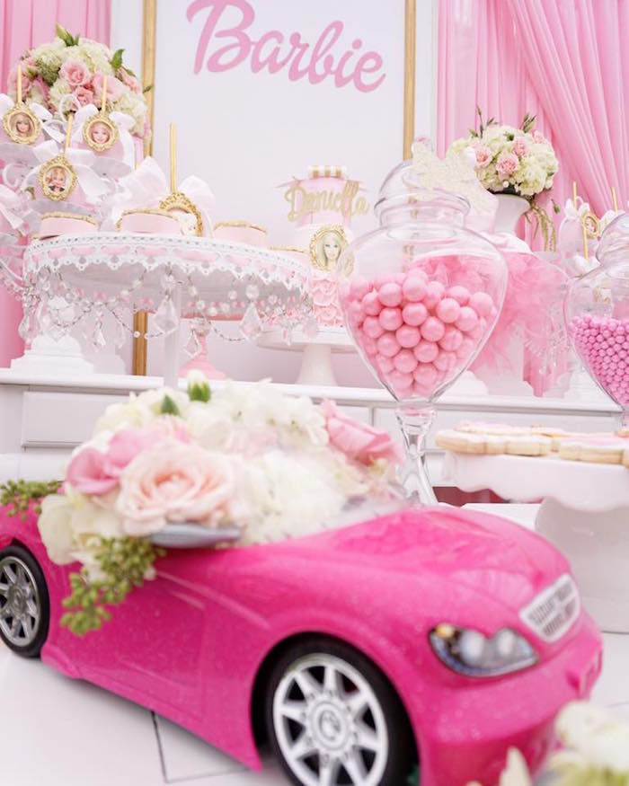 Karas Party Ideas Pink Glam Barbie Birthday Party Karas Party Ideas