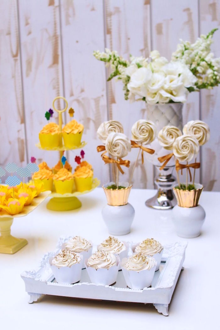 Sweetscape from a Pretty Pastel Rainbow Party on Kara's Party Ideas | KarasPartyIdeas.com (16)