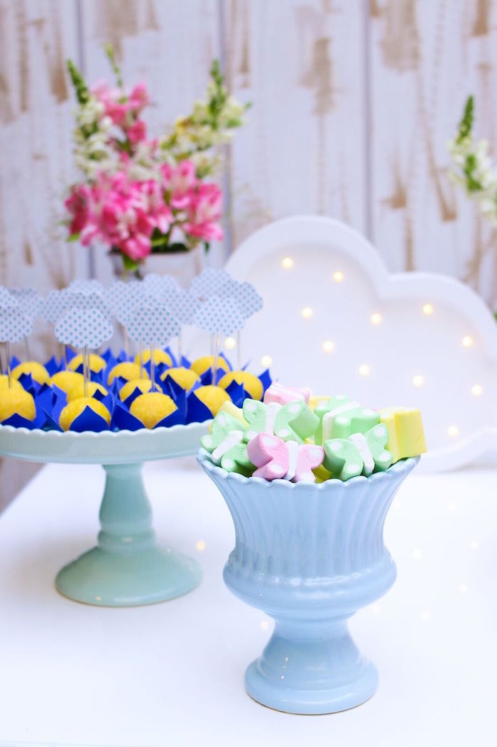 Sweets from a Pretty Pastel Rainbow Party on Kara's Party Ideas | KarasPartyIdeas.com (33)