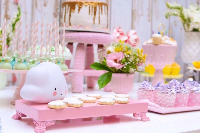 Pretty Pastel Rainbow Party on Kara's Party Ideas | KarasPartyIdeas.com (27)