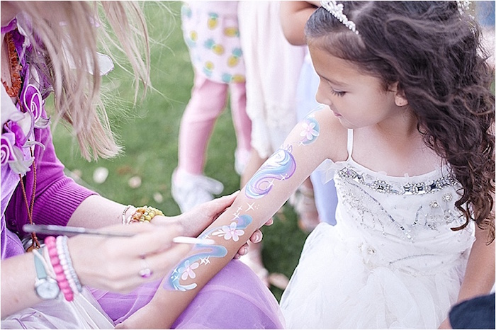 Rustic Fairies & Unicorns Birthday Party on Kara's Party Ideas | KarasPartyIdeas.com (16)