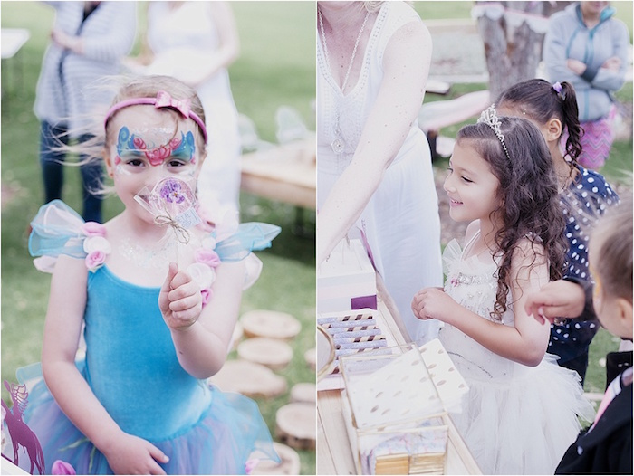 Rustic Fairies & Unicorns Birthday Party on Kara's Party Ideas | KarasPartyIdeas.com (23)