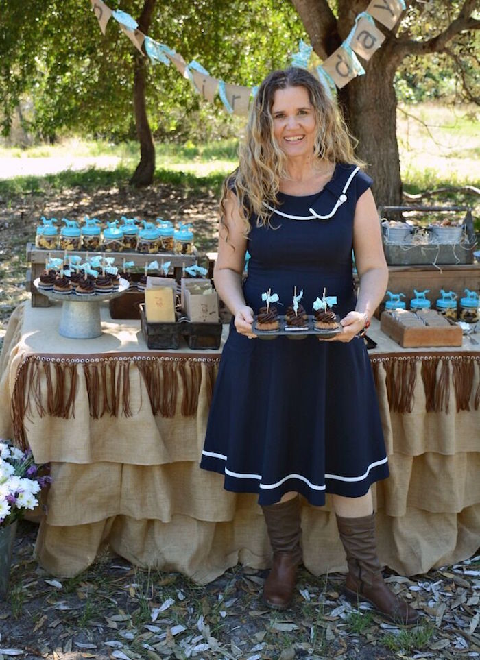 Dessert table from a Rustic Horse Birthday Party on Kara's Party Ideas | KarasPartyIdeas.com (21)