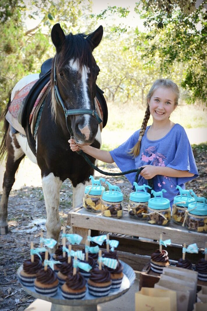 Rustic Horse Birthday Party on Kara's Party Ideas | KarasPartyIdeas.com (18)