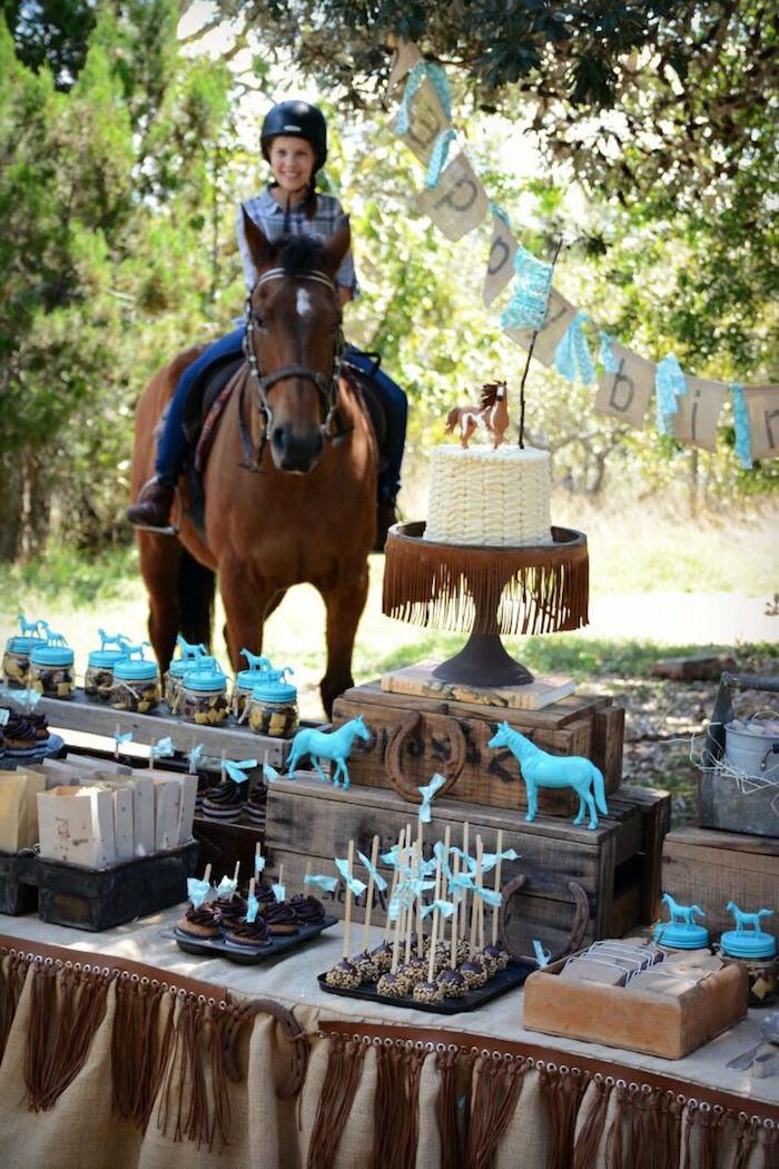 Rustic Horse Birthday Party on Kara's Party Ideas | KarasPartyIdeas.com (16)