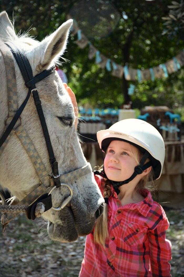 Rustic Horse Birthday Party on Kara's Party Ideas | KarasPartyIdeas.com (12)