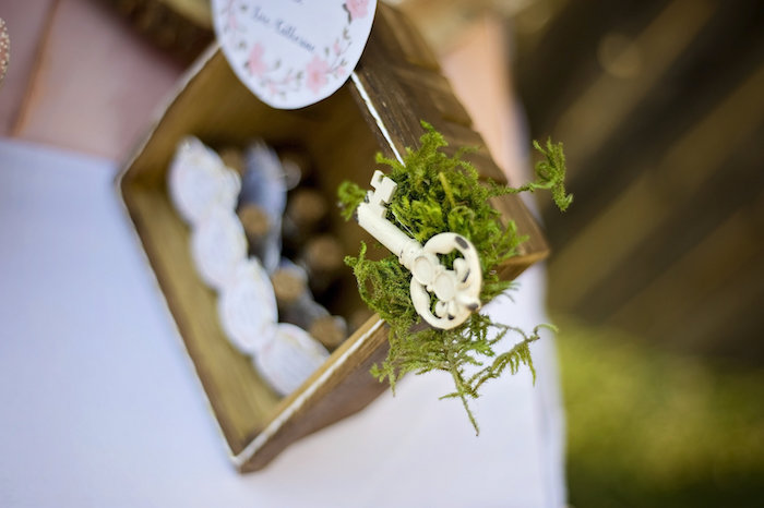 Secret garden key from a Secret Garden Birthday Party on Kara's Party Ideas | KarasPartyIdeas.com (3)