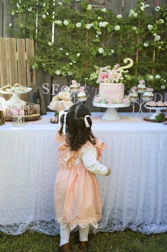 Secret Garden Birthday Party on Kara's Party Ideas | KarasPartyIdeas.com (2)