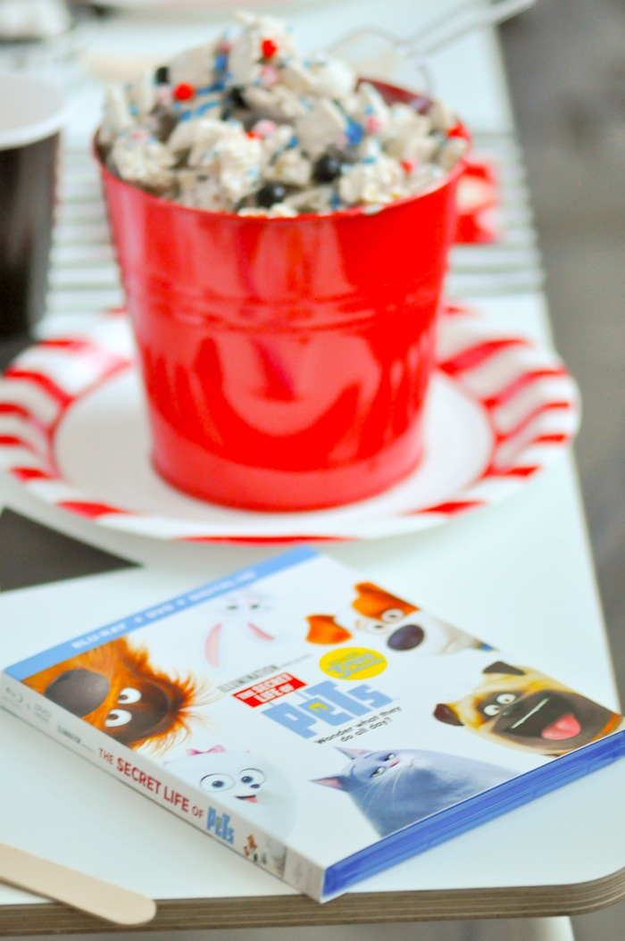 Secret Life of Pets Movie Viewing Party | Movie Night Party by Kara's Party Ideas | KarasPartyIdeas.com