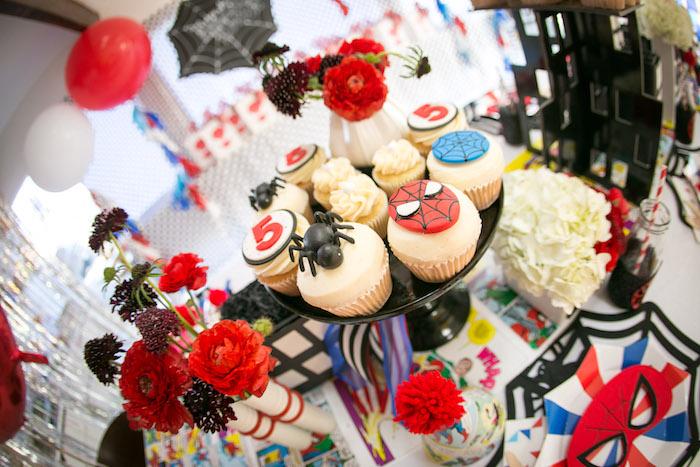 Spectacular Spider Man Birthday Party on Kara's Party Ideas | KarasPartyIdeas.com (40)