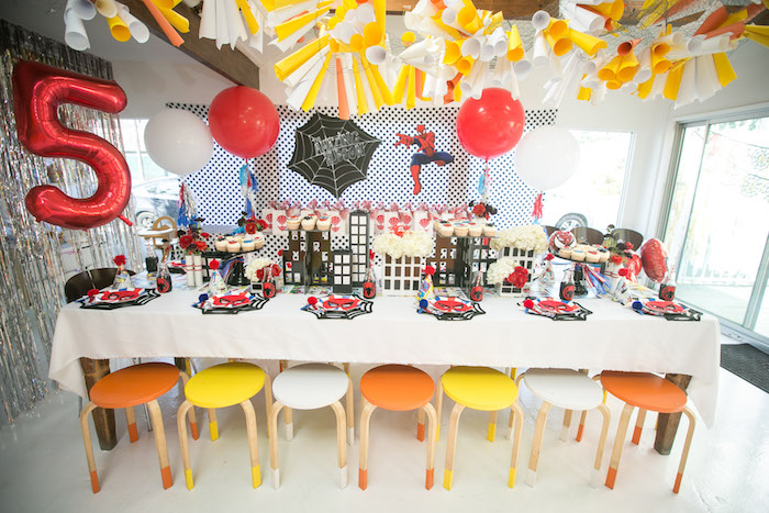 Spectacular Spider Man Birthday Party on Kara's Party Ideas | KarasPartyIdeas.com (38)
