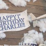 Time Flies Vintage Airplane 1st Birthday Party on Kara's Party Ideas | KarasPartyIdeas.com (2)