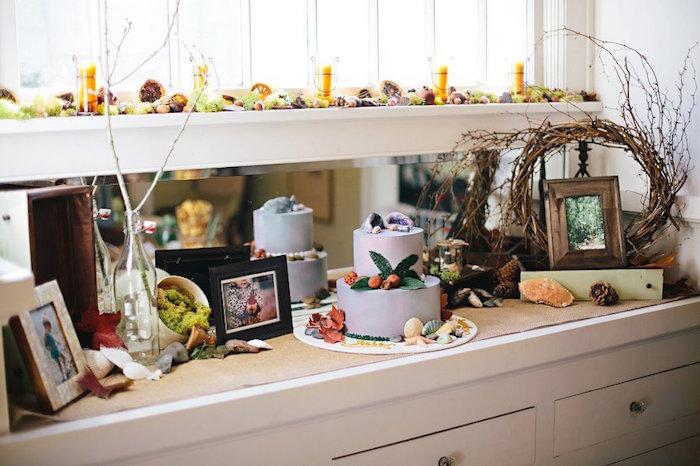 Cake table from a Treasures & Trinkets Birthday Party on Kara's Party Ideas | KarasPartyIdeas.com (31)