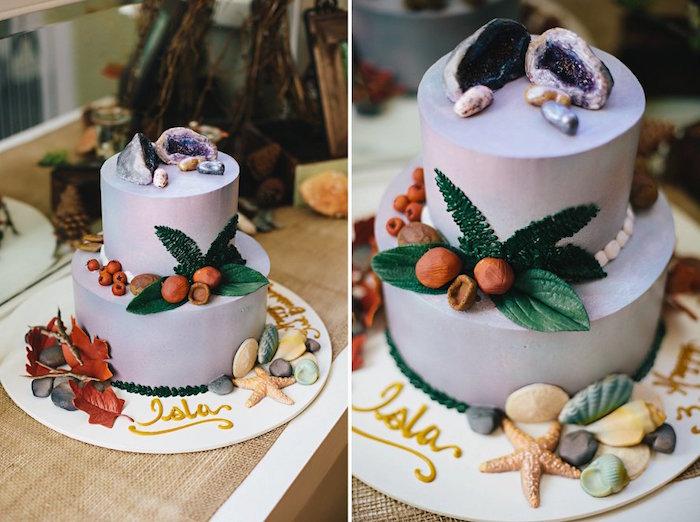 Cake from a Treasures & Trinkets Birthday Party on Kara's Party Ideas | KarasPartyIdeas.com (30)