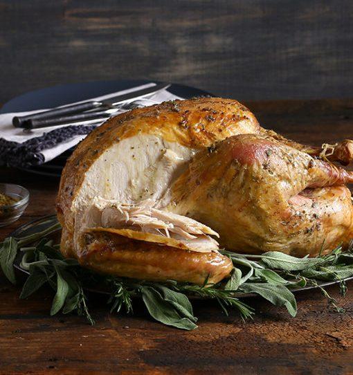 Gourmet Herbed Brined Turkey via Kara's Party Ideas