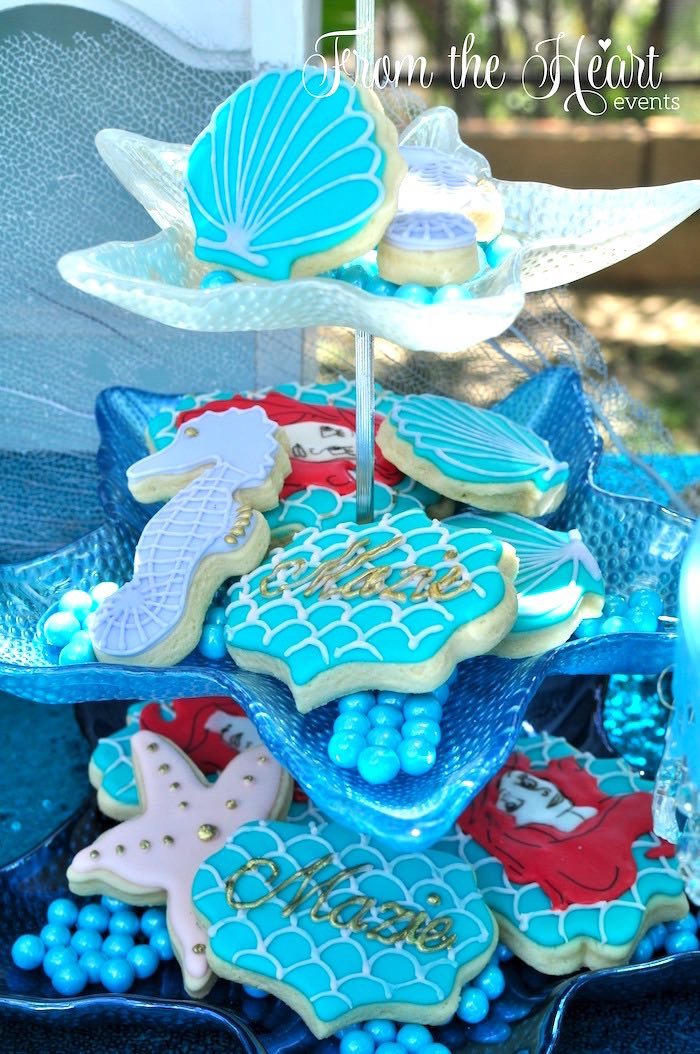 Little Mermaid Birthday Party Ideas Food