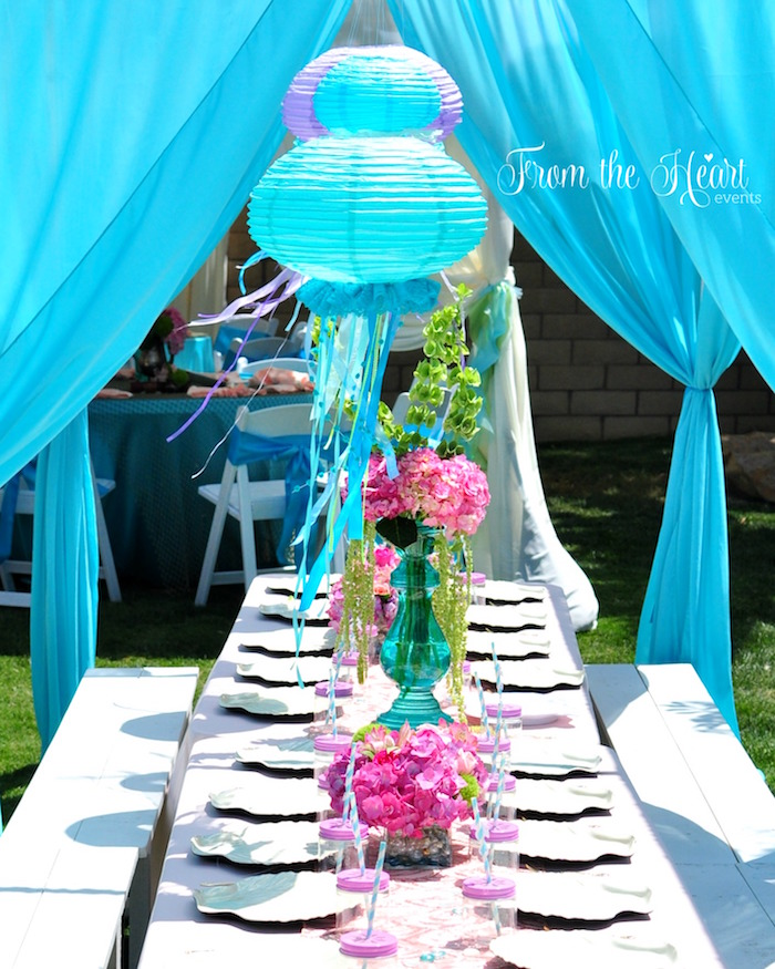 Kara S Party Ideas 187 Vintage Glamorous Little Mermaid