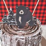 Baby Bear Lumberjack Birthday Party on Kara's Party Ideas | KarasPartyIdeas.com (3)