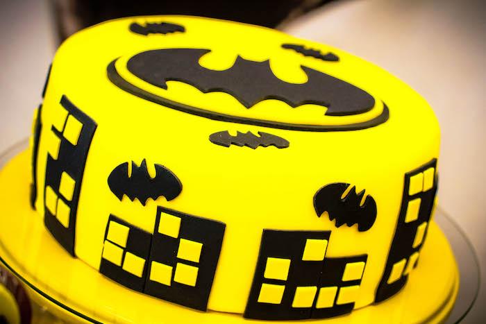 Karas Party Ideas Black And Yellow Batman Birthday Party Karas