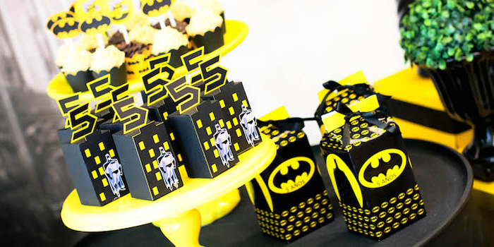 Batman Birthday Party on Kara's Party Ideas | KarasPartyIdeas.com (1)